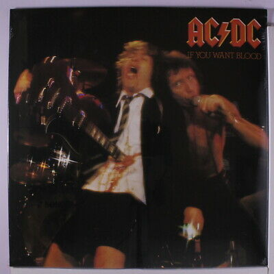 AC/DC: If You Want Blood LP Sealed (Germany, reissue) Rock & Pop