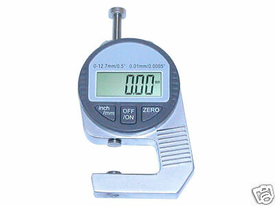 Digital Thickness Gauge Measurement Paper, Card Stock, Printer's Parts