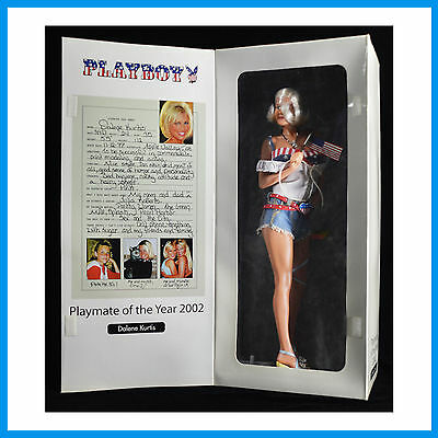 2002 Dalene Kurtis Playmate Of The Year Series 3 Limited Edition Fashion Doll