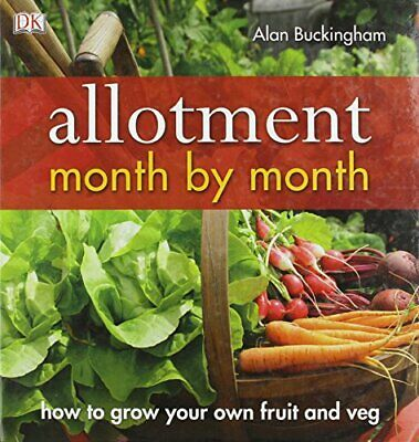 Allotment Month By Month Book The Cheap Fast Free Post