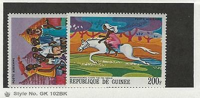 Guinea, Postage Stamp, #C102-C103 Mint NH, 1968