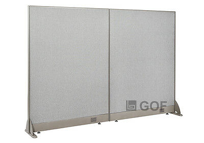 GOF Office Freestanding Partition 72W x 48H / Office Divider