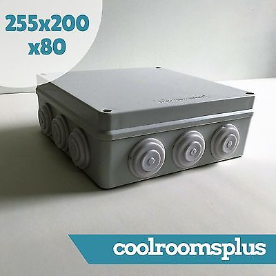 255x200x80mm Junction Box Waterproof Plastic Electronic Project Box Enclosure