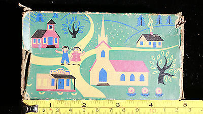 Vintage 1955 The Ohio Blue Tip Match Company Box of Matches