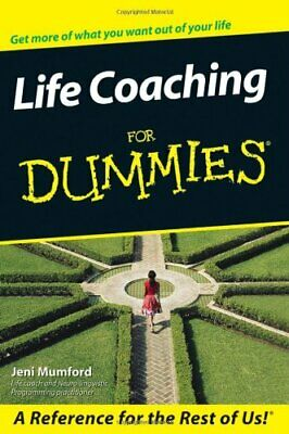 Life Coaching For Dummies, Mumford, Jeni Paperback Book The Cheap Fast Free Post