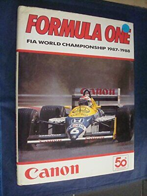 Formula One Year Book 1988 Hardback Book The Cheap Fast Free Post