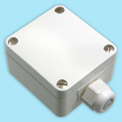 Outdoor sensor, Outdoor temperature sensor with PT100 3-wire Connection Heater
