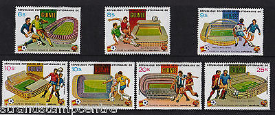 Guinea - 1982 World Cup - U/M - SG 1068-74