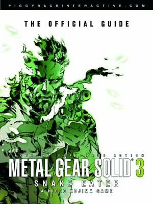 Metal Gear Solid 3: Snake Eater - The Official Guide Paperback Book The Cheap