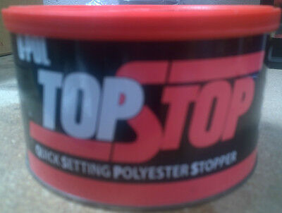 U-Pol TOP STOP Filler Smooth Finishing Polyester Stopper 750ml