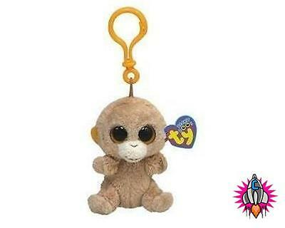 Ty Beanie Babies Baby Boo Boos Keyring Tangerine Soft Toy New Tags