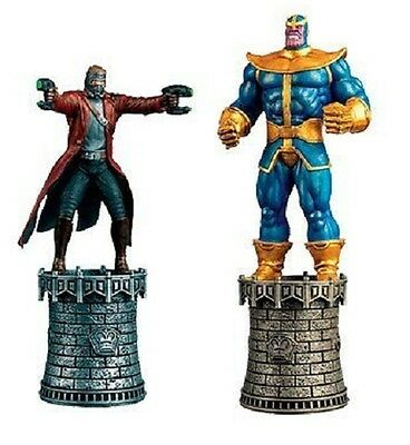 Marvel Star-Lord and Thanos Special Chess Piece NEW