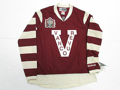 Vancouver Canucks Women Ladies 2014 Heritage Classic Reebok Hockey Jersey