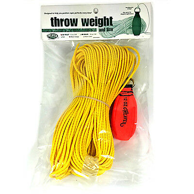 Weaver Arborist Throw Kit 12oz Blaze Orange 0898327BO 08-98327-BO Rigging Bag