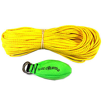 Weaver Arborist Throw Kit 16oz Neon Green 0898329NG 08-98329-NG Rigging Bag