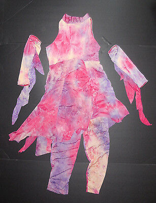 New in Package Revolution Midnight Sun Lyrical Pageant Costume Large Child Solo