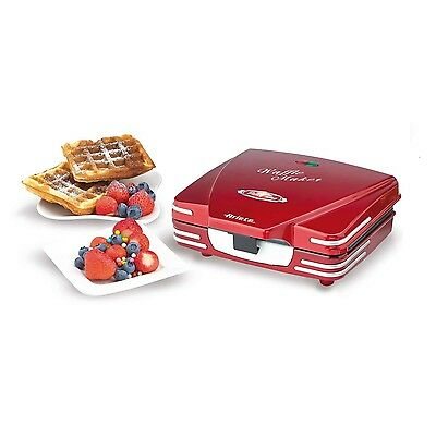 Ariete 187 Waffle Maker Party Time Macchina Waffle Piastre Antiaderenti