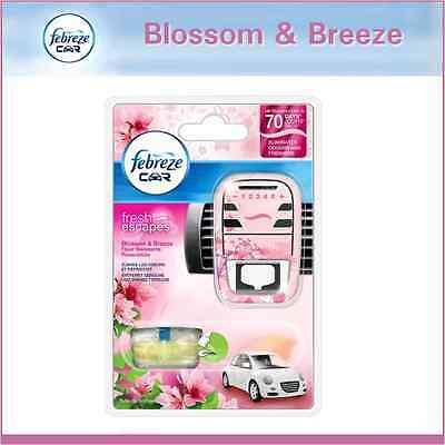 Febreze Car Vent Air Freshener Eliminates Odours & Freshens - Blossom & Breeze