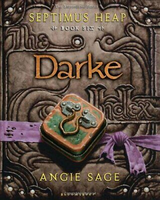 Darke: Septimus Heap Book 6 by Sage, Angie Book The Cheap Fast Free Post