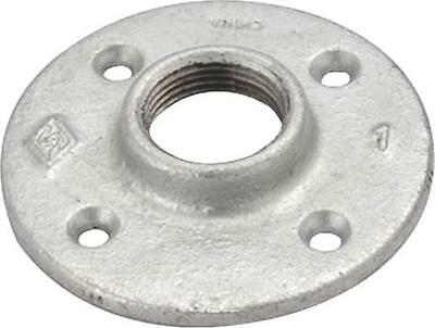 (10) 1/2 INCH GALVANIZED PIPE THREADED FLOOR FLANGE FITTING - 10 Pack