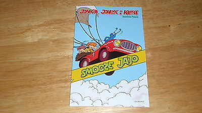 *new polish book* Kleks: Smocze jajo *komiks*