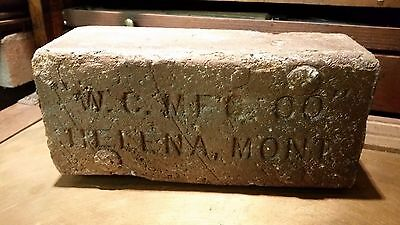 Old Brick - Western Clay - Helena Montana - Archie Bray - Great Condition