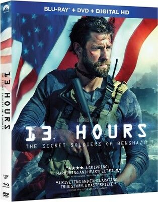 13 Hours: The Secret Soldiers of Benghazi [New Blu-ray] With DVD, 2 Pack, Digi