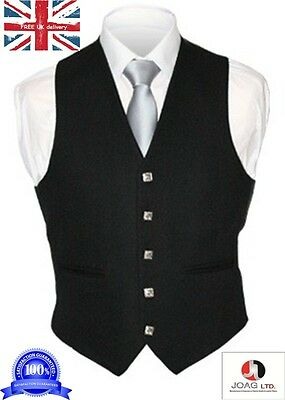 "Kilt Argyle Waist Coat - Vest/ Scottish Kilt Vest -- Size Available 38"" To 54--"