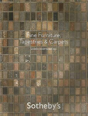 Sothebys Catalogue Fine Furniture Tapestries & Carpets