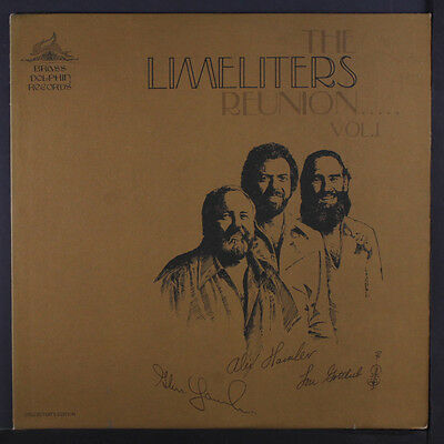 LIMELITERS: Reunion, Vol. 1 LP (corner bend) Folk