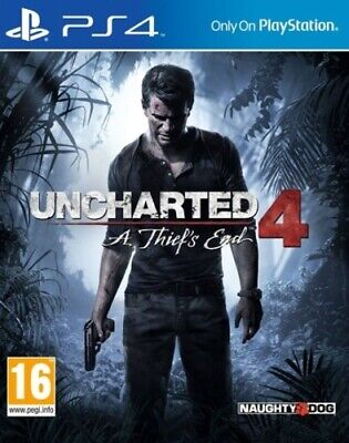 Uncharted 4: A Thief's End (PS4) PEGI 16+ Adventure Expertly Refurbished Product