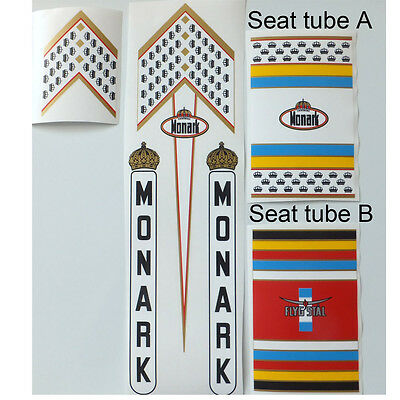 Monark decal set Swedish vintage