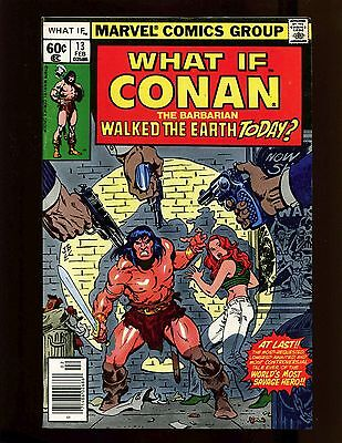 What If? (1st Ser.) #13 VF Giant Buscema Chan Conan in New York City