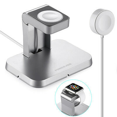 Magnetic Wireless Charger Dock Stand For Apple Watch iWatch 42mm & 38mm