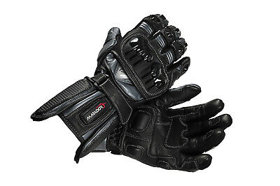 "Men's Leather Motorcycle Sport Gloves– ""Wolverine"""