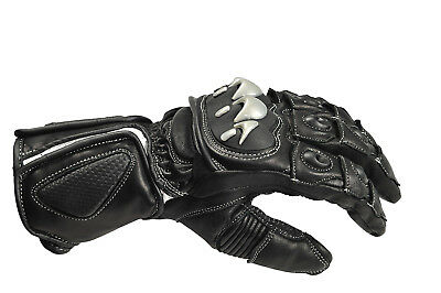 """Men's Leather Motorcycle Sport Gloves – """"Knight"""""""