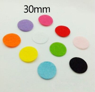 50-500pcs  UPICK Colors Die Cut Felt Circle Cardmaking Appliques decoration