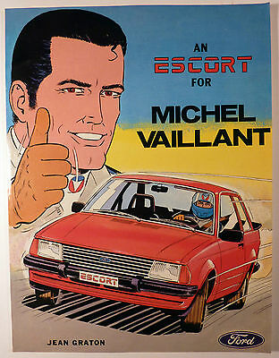 "Michel Vaillant "" An escort for ..."" Graton Ed. Koralle 1980 TBE"