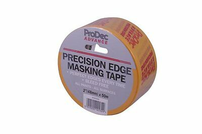 Rodo Atmt003 Prodec Advance Precision Edge Masking Tape 48Mm X 50M 4 Rolls