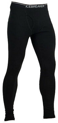 Icebreaker Mens Bodyfit 260 Leggings With Fly – Blackadults Thermals