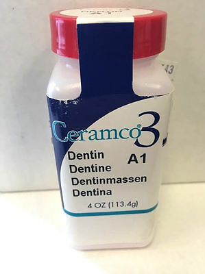 Detnsply Ceramco3 Dentin Porcelain Powder  4oz