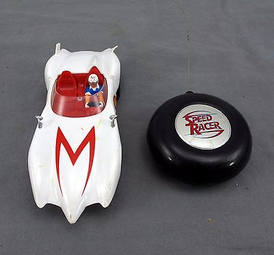 USED Speed Racer Little Rides Radio Control - Mach 5 RC Toy Tested