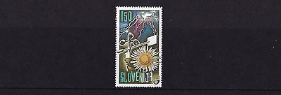Slovenia - 2000 Meteorological Day - U/M - SG 462