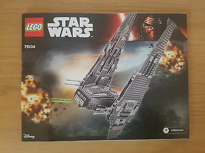 Lego Star Wars 75105 Millennium Falcon Instruction Manual Only