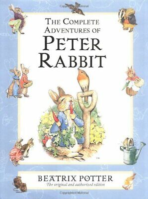 The Complete Adventures of Peter Rabbit: The Tale... by Potter, Beatrix Hardback