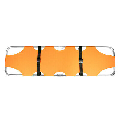 LINE2design Medical Stretcher - EMS Emergency Rescue Portable Stretcher - Orange