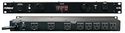 Furman M-8Dx Standard Level Power Conditioning, 15 Amp, 9 Outlets.  Warranty