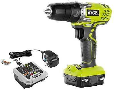 Cordless 12 Volt Lithium-Ion Drill Driver Kit Fastening Drilling Power Tool New