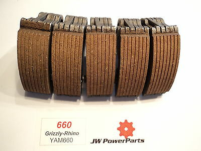 660 Grizzly Rhino Wet Clutch / Centrifugal Clutch Shoes Blocks