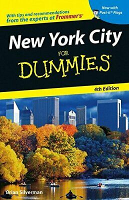 New York City for Dummies (Dummies Travel) by Silverman, Brian Paperback Book